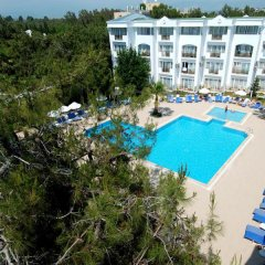 Отель Maya Golf Side - All Inclusive Сиде балкон