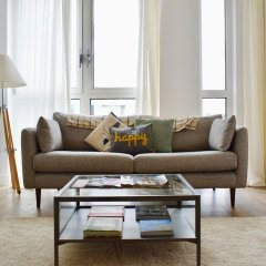 Апартаменты Modern 1 Bedroom Apartment in Greenwich комната для гостей фото 5