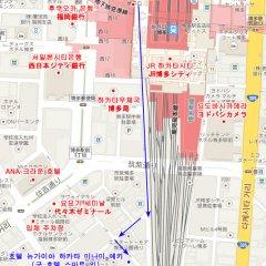 Hotel New Gaea Hakata-eki Minami городской автобус
