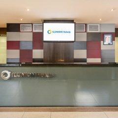 Отель ILUNION Auditori Испания, Барселона - 3 отзыва об отеле, цены и фото номеров - забронировать отель ILUNION Auditori онлайн интерьер отеля фото 2