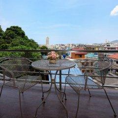 Отель Oceanview Treasure Hotel & Residence Таиланд, Карон-Бич - 1 отзыв об отеле, цены и фото номеров - забронировать отель Oceanview Treasure Hotel & Residence онлайн балкон
