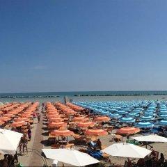 Hotel Sandra Гаттео-а-Маре пляж фото 2