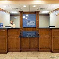 Отель Holiday Inn Express & Suites Somerset Central интерьер отеля
