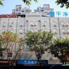 Отель Hanting Express Ganzhou Bus StationWenming Avenue Китай, Ганьчжоу - отзывы, цены и фото номеров - забронировать отель Hanting Express Ganzhou Bus StationWenming Avenue онлайн парковка