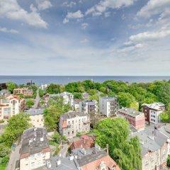 Апартаменты Dom & House - Level Eleven Apartment Sea View пляж