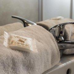 Отель Flaminio Village Bungalow Park Италия, Рим - 3 отзыва об отеле, цены и фото номеров - забронировать отель Flaminio Village Bungalow Park онлайн ванная фото 2