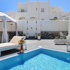Отель Anemos Beach Lounge Hotel Греция, Остров Санторини - отзывы, цены и фото номеров - забронировать отель Anemos Beach Lounge Hotel онлайн бассейн фото 3