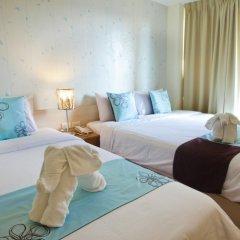 Отель Villa Cha Cha Rambuttri Бангкок комната для гостей фото 5