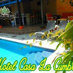 Hotel Casa La Cumbre Сан-Педро-Сула бассейн фото 3