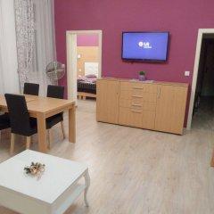 Апартаменты Apartments Verona Karlovy Vary комната для гостей фото 3