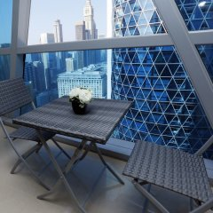 Отель Kennedy Towers - Park Towers Дубай балкон