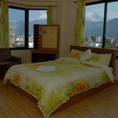 Отель Trekkers Inn Непал, Покхара - отзывы, цены и фото номеров - забронировать отель Trekkers Inn онлайн комната для гостей фото 5