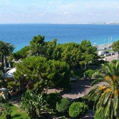 Отель Albert 1'er Hotel Nice, France Франция, Ницца - 9 отзывов об отеле, цены и фото номеров - забронировать отель Albert 1'er Hotel Nice, France онлайн пляж фото 2