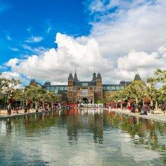 Отель Jordaan Area Нидерланды, Амстердам - отзывы, цены и фото номеров - забронировать отель Jordaan Area онлайн приотельная территория фото 2