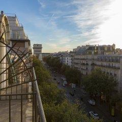 Отель Elysées Ceramic Франция, Париж - отзывы, цены и фото номеров - забронировать отель Elysées Ceramic онлайн балкон