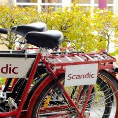 Отель Scandic Aalborg City спортивное сооружение