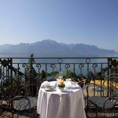 Отель Fairmont Le Montreux Palace балкон