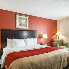 Отель Quality Inn Kingsville Hwy 77 США, Кингсвилль - отзывы, цены и фото номеров - забронировать отель Quality Inn Kingsville Hwy 77 онлайн комната для гостей фото 5