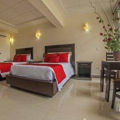 Hotel Villa Las Margaritas Sucursal Caxa сейф в номере