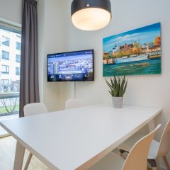 Отель Apartdirect Hammarby Sjostad Стокгольм удобства в номере фото 2