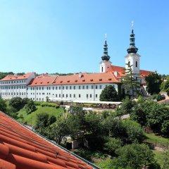 Отель QUESTENBERK Прага балкон