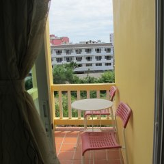 Отель Pius Place балкон