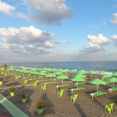 Отель Rethymno Village пляж фото 2