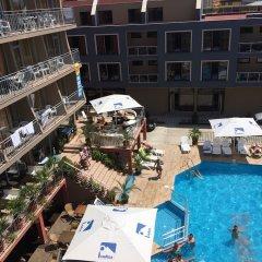 Отель Tia Maria Premium Hotel Болгария, Солнечный берег - отзывы, цены и фото номеров - забронировать отель Tia Maria Premium Hotel онлайн бассейн фото 3