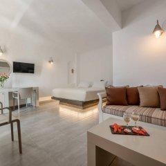 Отель Krokos Villas Греция, Остров Санторини - отзывы, цены и фото номеров - забронировать отель Krokos Villas онлайн комната для гостей фото 4