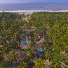 Hotel Sansiraka пляж