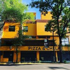Отель Hostal Hidalgo - Hostel Мексика, Гвадалахара - отзывы, цены и фото номеров - забронировать отель Hostal Hidalgo - Hostel онлайн вид на фасад
