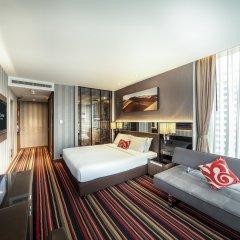 Отель The Continent Bangkok by Compass Hospitality 4* Представительский номер с различными типами кроватей фото 22