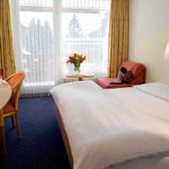 Отель Cresta Швейцария, Давос - отзывы, цены и фото номеров - забронировать отель Cresta онлайн комната для гостей фото 5