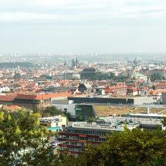 Отель NH Prague City балкон
