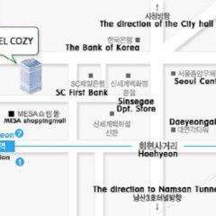 Hotel Cozy Myeongdong городской автобус