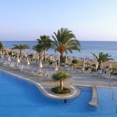 Отель Sunrise Beach Hotel Кипр, Протарас - 5 отзывов об отеле, цены и фото номеров - забронировать отель Sunrise Beach Hotel онлайн пляж фото 2