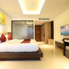 Отель Paripas Patong Resort сейф в номере