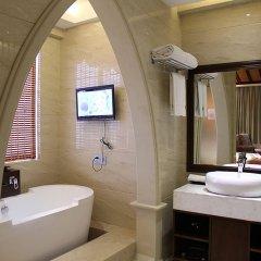 Отель Grand Metropark Bay Hotel Sanya Китай, Санья - отзывы, цены и фото номеров - забронировать отель Grand Metropark Bay Hotel Sanya онлайн ванная фото 2