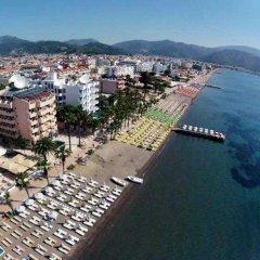 Paşa Garden Beach Hotel Турция, Мармарис - отзывы, цены и фото номеров - забронировать отель Paşa Garden Beach Hotel онлайн приотельная территория