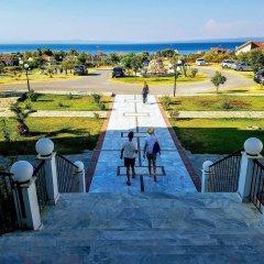Отель Hilltop Hotel Греция, Ханиотис - отзывы, цены и фото номеров - забронировать отель Hilltop Hotel онлайн балкон