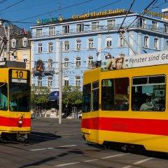 Euler Hotel Basel городской автобус