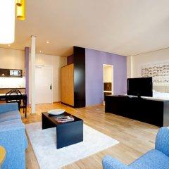 Отель arcona LIVING BACH14 Германия, Лейпциг - 1 отзыв об отеле, цены и фото номеров - забронировать отель arcona LIVING BACH14 онлайн комната для гостей