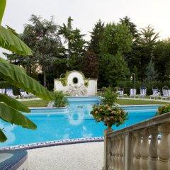 Отель Abano Ritz Hotel Terme Италия, Абано-Терме - 13 отзывов об отеле, цены и фото номеров - забронировать отель Abano Ritz Hotel Terme онлайн бассейн фото 2