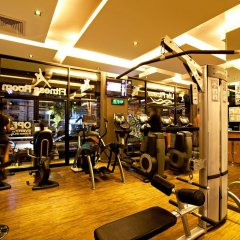 Курортный отель C&N Resort and Spa фитнесс-зал фото 3