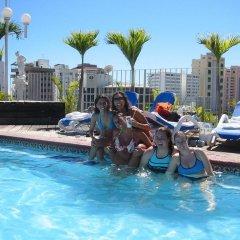 Отель Sirenas Express Acapulco бассейн