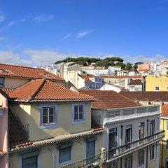Отель Vincci Baixa Португалия, Лиссабон - отзывы, цены и фото номеров - забронировать отель Vincci Baixa онлайн балкон