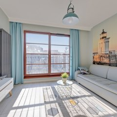 Апартаменты Downtown Apartments - Nowa Motlawa комната для гостей фото 5