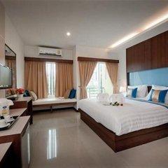 Отель Blue Sky Patong 3* Стандартный номер с различными типами кроватей фото 2