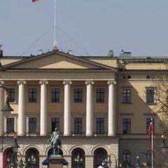 Отель Karl Johan Hotell Осло балкон