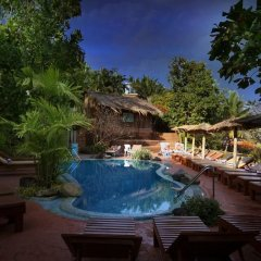 Отель Pride Sun Village Resort And Spa Гоа бассейн фото 2